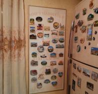Доска для магнитиков разгрузила холодильник