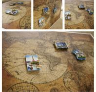 Магнитная доска «Древняя карта»