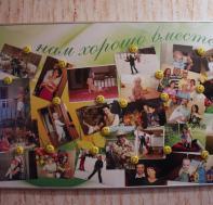 Доска для фотографии Ромашки в солнечных лучах